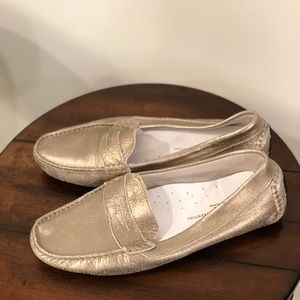 Gold Mercanti driving shoes